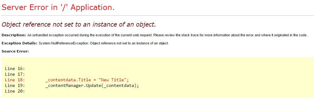 Object Ref